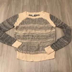 5/$25 Abound Marled Knit Boat Neck Sweater